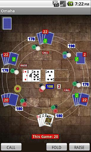 Omaha Poker - screenshot