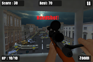 Screenshot of Zombie Sniper Killing Game