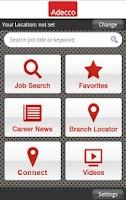 Screenshot of Adecco Jobs