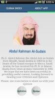 Screenshot of Holy Quran - Al Sudais