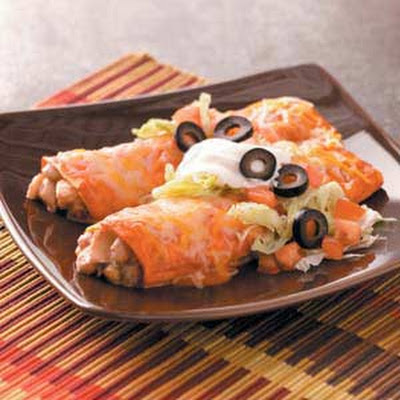Simple Chicken Enchiladas