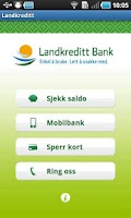 Screenshot of Landkreditt Bank