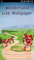 Screenshot of Wonderland Live Wallpaper