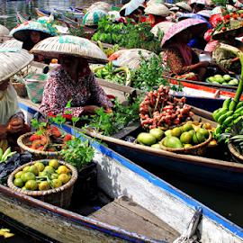 by Nyimas  Nurul - City,  Street & Park  Markets & Shops