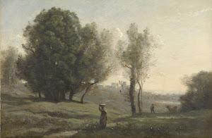 RIJKS: Camille Corot: Landscape 1872