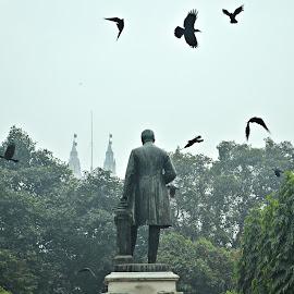 Bygone glory by Arnab Bhattacharyya - City,  Street & Park  Street Scenes