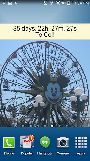 Countdown for Disneyland Dlx - screenshot