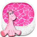 THEME - Hot Pink Giraffe icon