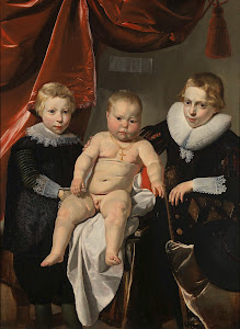 RIJKS: Thomas de Keyser: Group Portrait of Three Brothers 1632