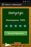 Screenshot of Matura z Matematyki 2014