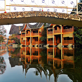 Under the Bridge by Diadjeng Laraswati H - Buildings & Architecture Bridges & Suspended Structures (  )