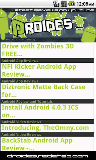 Droides - Apps Phones Reviews