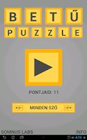 Screenshot of BetűPuzzle – Ki Tudod Rakni?