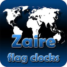 Zaire flag clocks