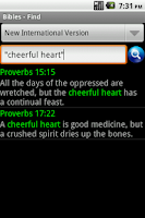 Screenshot of OpenBibles