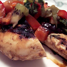 West Coast Chicken with Kiwi Salsa