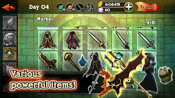 Screenshot of RPG REON-Strategy Defense Camp