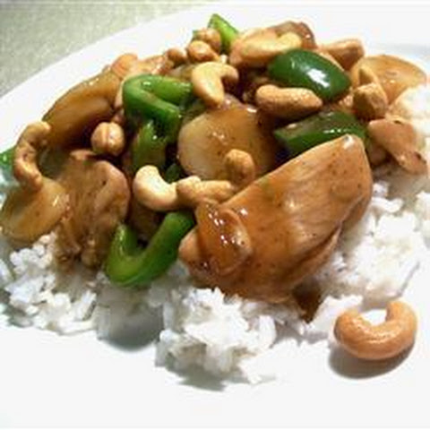 Stir Fried Chicken In Chili, Soy Sauce Recipe — Dishmaps