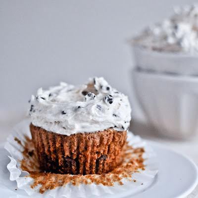 Chocolate Chip Oatmeal Cupcakes