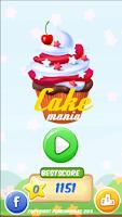 Screenshot of Candy Cake Mania-Match 3 Cakes