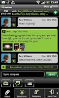 Screenshot of WIZ Messenger