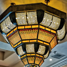 Sparkling Lights by Luanne Bullard Everden - Buildings & Architecture Architectural Detail ( lights, details, colors, buildings, architecture )