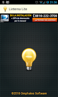 Screenshot of Flashlight with LED Lite