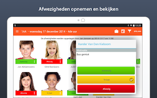 Screenshot of Smartschool