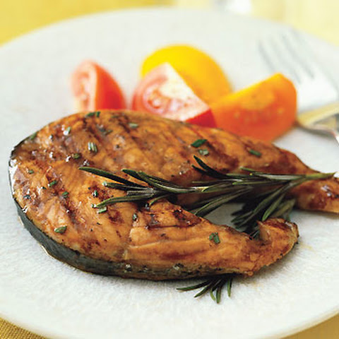 Salmon Steak With Orange-Balsamic Glaze Recipes — Dishmaps