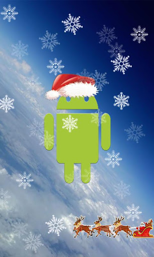 Top Santa Droid Wallpaper