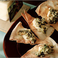 Eggplant and Hummus Pita Crisps Recipe
