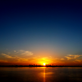 Bayside Sunset 1 by Silvan Saria - Landscapes Sunsets & Sunrises ( amazing, orange, sunset, beautiful, photography,  )
