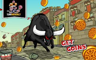 Screenshot of Bad San Fermin Bullrun Revenge