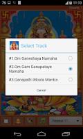 Screenshot of Lord Ganesha Mantra
