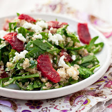 Blood Orange, Spinach, and Quinoa Salad
