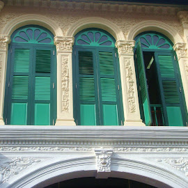 Green Windows  by Koh Chip Whye - Buildings & Architecture Other Exteriors (  )