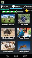 Screenshot of Nature Sounds