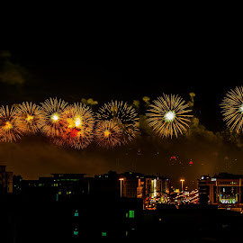 Qatar National Day 2013 by Elmer Magdosa - News & Events Politics ( qatar national day, qnd, fireworks, qatar )