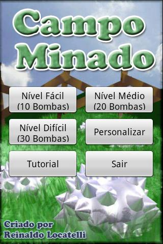 Campo Minado Minesweeper