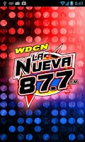 Screenshot of La Nueva 87.7