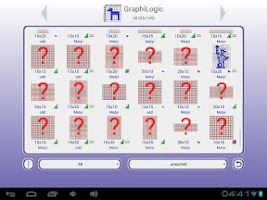 Screenshot of GraphiLogic (Nonogram,Picross)