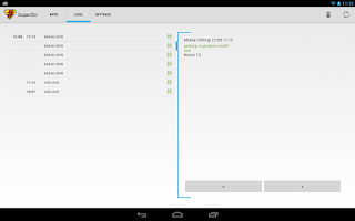 Screenshot of SuperSU Pro