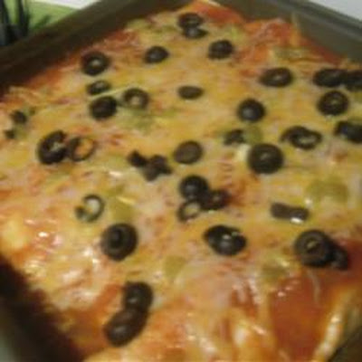 Pineapple Enchiladas