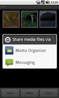 Screenshot of Media Organizer Photos/Videos