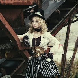 Iron Queen by Beth Schneckenburger - People Fashion ( old, fashion, abanonded, artistic, steampunk )