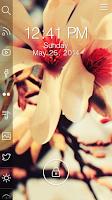 Screenshot of Flower - Start Theme