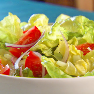 Salad with Three-Mustard Vinaigrette