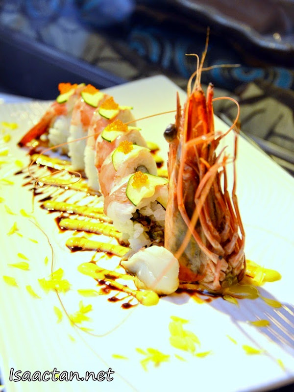Jumbo Ebi Sushi At Fu Rin Japanese Restaurant Malaysia Food