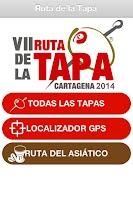 Screenshot of Ruta de la Tapa de Cartagena