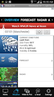 Screenshot of WMUR News 9 - NH News, Weather